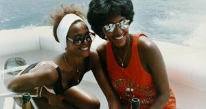 Whitney Houston with Robyn Crawford: 'We were young, and fearless, and free.' Photograph courtesy of Robyn Crawford