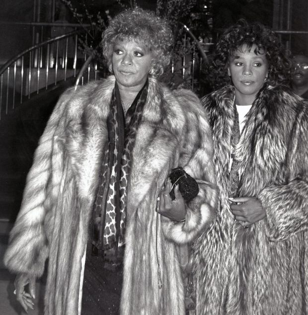 Whitney Houston with her mother, Cissy, in 1989. Photograph: Getty