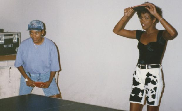 Robyn Crawford with Whitney Houston: 'If her record company found out, she said, they'd use it against us.' Photograph courtesy of Robyn Crawford
