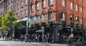 The Paramount Hotel occupies a pivotal position on Parliament Street in Dublin's Temple Bar area.