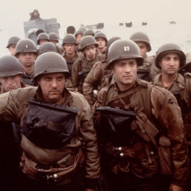 Tom Hanks in Saving Private Ryan