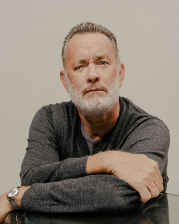 Tom Hanks. Photograph: Daniel Dorsa/New York Times
