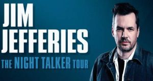 Win a pair of tickets to Jim Jefferies: The Night Talker Tour