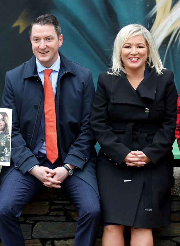 Incendiary anti-Finucane banners mounted in Belfast