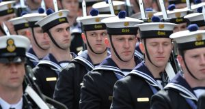 Both PDFORRA, which represents non-commissioned ranks in the Naval Service, and RACO, which represents commissioned officers, said the tax credit is a step in the right direction but will not be enough to retain personnel. Photograph: Alan Betson/The Irish Times