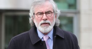 Gerry Adams is challenging two historical prison escape convictions at the UK's highest court. File Photograph: Niall Carson/PA Wire