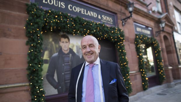 Louis Copeland: The family business is run by Adrian and Louis Copeland and now employs 70 people, including their sons.
