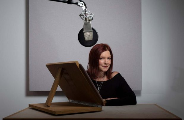 Finty Williams: 'At drama school I was told I didn't have a voice for radio.' Photograph: Fabio De Paola/Guardian