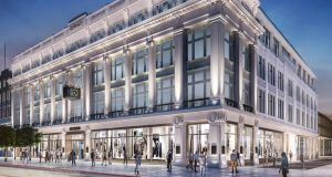 Clerys Quarter:  one of five potential locations An Post is said to be considering in advance of the commencement of an extensive refurbishment of the GPO