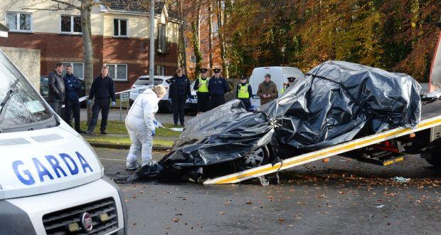 Man found shot dead in burning car in Lucan - The Irish Sun