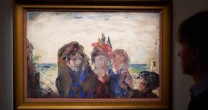 A Paris of the West by Jack B Yeats on display at Sotheby's. It sold for €787,964. Photograph: Michael Bowles/Getty Images for Sotheby's