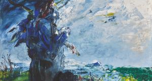 The Man in the Moon has Patience by Jack B Yeats achieved €379,390 against a €170,000–€282,000 reserve. Photograph:  Sotheby's