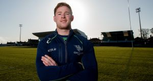 "Connacht's  Kieran Marmion: ""To know that he is going to be around for another three years is great news."" Photograph: James Crombie/Inpho"