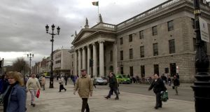 Ronald Quinlan reports on a plan by An Post that could see the former Clerys department store on O'Connell Street becoming its new headquarters as it relocates from the GPO (above).