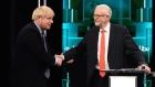 Johnson and Corbyn spar during live TV debate
