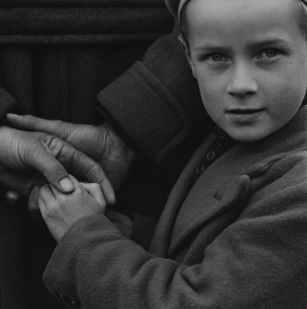 Irish country people, 1954. From the Dorothea Lange Collection, the Oakland Museum of California. Gift of Paul S Taylor