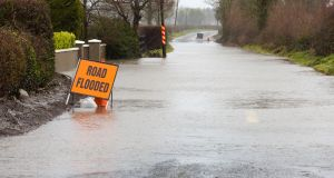 Met Éireann says there is a possibility of flash flooding in affected areas. Photograph: iStock