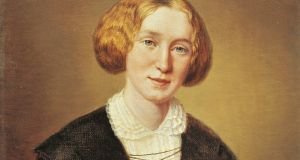 Portrait of George Eliot, pseudonym of Marian Evans, by François d'Albert-Durade, 1849