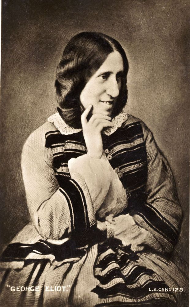 English novelist George Eliot, pseudonym of Marian Evans in 1869. Photograph: London Stereoscopic Company/Getty Images
