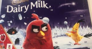 The Angry Birds themed Advent calendar from the people at Cadbury looks impressive and we can imagine that most children will receive it with delight