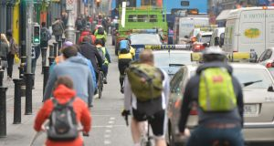A cycling group has told TDs it regularly receives reports of  intimidation towards cyclists. File photograph: Alan Betson/The Irish Times.