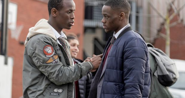 Postcode of honour: Micheal Ward and Stephen Odubola in Blue Story