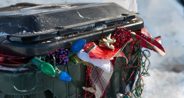 According to Repak, Ireland will generate almost 90,000 tonnes of packaging waste this Christmas.