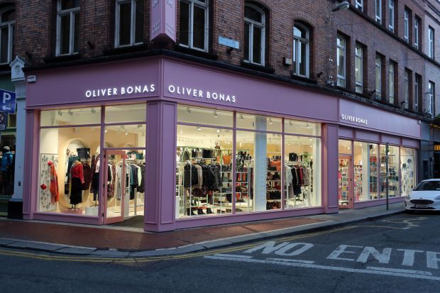 Oliver Bonas: the British design chain's new store in Dublin. Photograph: Nick Bradshaw