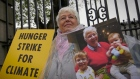 78-year-old climate activist goes on hunger strike outside Dáil