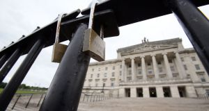 A Stormont deal by Easter is entering the realms of plausibility, yet for that very reason there will be carte blanche to extend the deadline again. Photograph:  Paul Faith/AFP/Getty Images