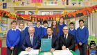 Broadband photo op in school leads to conniptions in Dáil