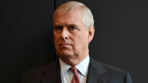 Britain's Prince Andrew was criticised for showing a lack of empathy towards Epstein's victims. Photograph: David Mariuz/EPA
