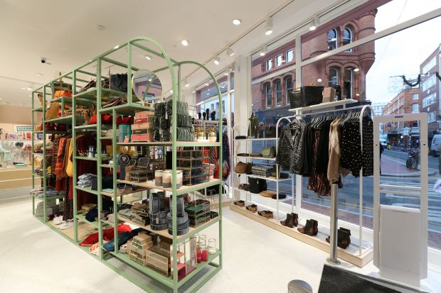Oliver Bonas: the design chain's new store in Dublin. Photograph: Nick Bradshaw