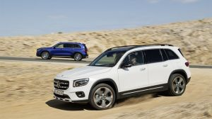 The Mercedes-Benz GLB takes some styling cues from the company's glorious G-Wagon, though not quite enough in our opinion
