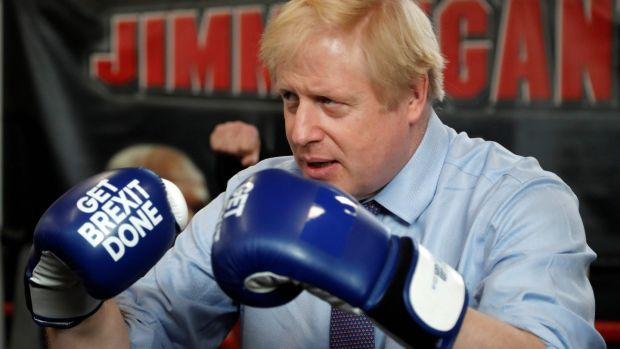 British prime minister Boris Johnson: 'absolutely no reason' why an agreement with EU could not be reached by end of next year. Photograph: FRANK AUGSTEIN/POOL/AFP via Getty Images
