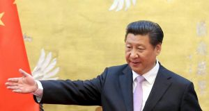 Chinese President Xi. There are concerns over Xi's Communist Party's close links with Chinese companies. Photograph:  Feng Li/Reuters