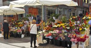 The flower stall street sellers on Grafton Street pointed out that they had been in the street much longer than Hines.  Photograph: iStock