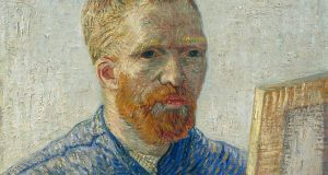 Vincent van Gogh's Self-portrait as an Artist, January 1888. Photograph: Van Gogh Museum, Amsterdam