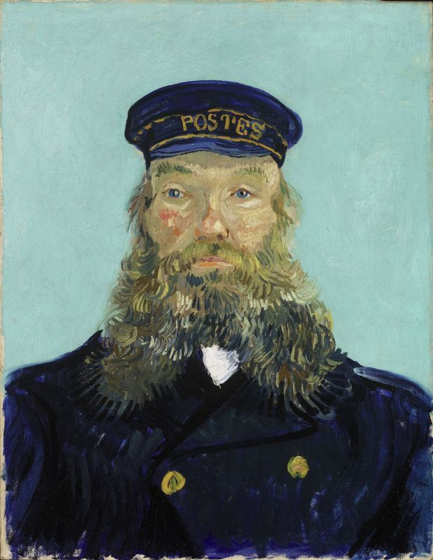 Portrait of Joseph Roulin, 1888 by Vincent van Gogh © The Detroit Institute of Arts, Detroit