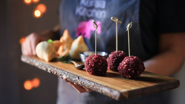 Party season canapes from Kerala Kitchen in Dublin 2