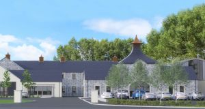 An artist's impression of the new 30,000sq ft Hinch Distillery in the grounds of Killaney Lodge country estate near Carryduff.