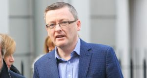 Sinn Féin TD David Cullinane has criticised 'unsustainable' funding cuts to councils. Photograph: Gareth Chaney/Collins