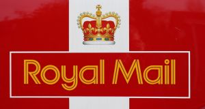 Royal Mail plummeted 14.2% in London after warning its turnaround plan was running behind schedule. Photograph: PA Wire
