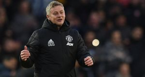 Manchester United's Ole Gunnar Solskjaer isn't feeling the pressure despite Mauricio Pochettino's sacking from Spurs. Photo: Oli Scarff/Getty Images