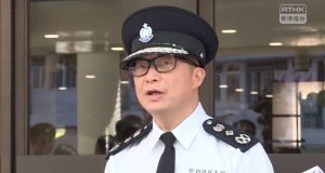 Hong Kong's new police chief Chris Tang: 'I think you do not want your family members and friends . . . to be worried,' he told activists