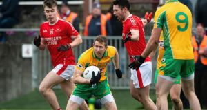 Gary Sice has been in brilliant form for  Corofin on their run to the Connacht final. Photograph: Evan Logan/Inpho