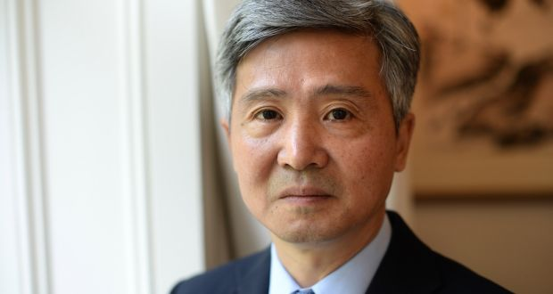 Chinese ambassador to Ireland, He Xiangdong, at his residence in Dublin, in October 2019. File photograph: Dara Mac Dónaill