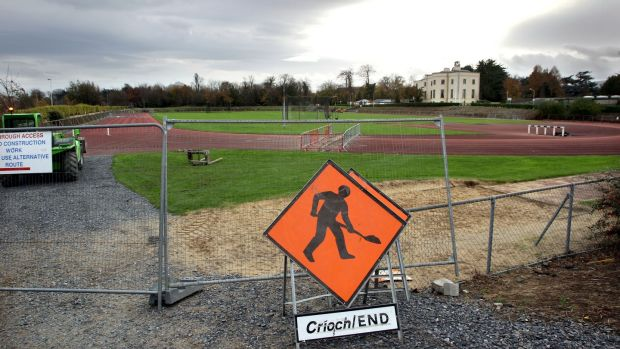 The UCD running track, pictured in 2011. Photograph: Cathal Noonan/Inpho