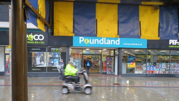 The arrival of Poundland in Dudley North has impacted on the 12th century market. Photograph: Jennifer O'Connell