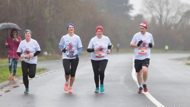 The Kildare Santa Dash is run in conjunction with a similar Santa Dash in Wicklow the week before and you can enter both and receive a joint medal.